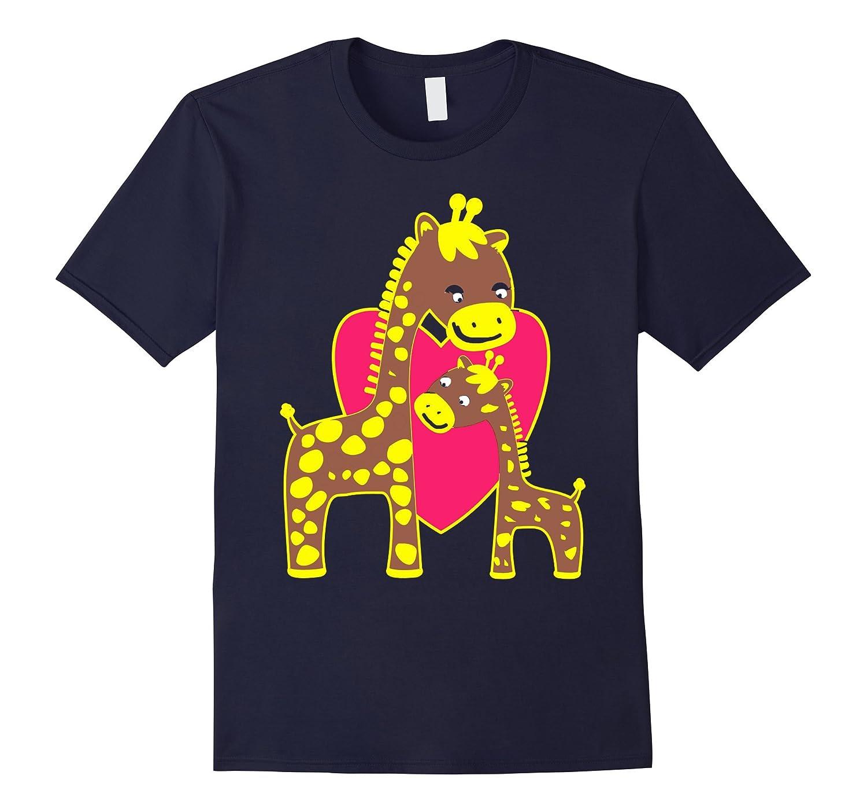 April the Giraffe and Baby T-shirt New Giraffe Born 2017-CD