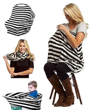 353f6f88bff Nursing Breastfeeding Cover Scarf - BEST Use for Baby Car Seat Canopy,  Stroller, Shopping