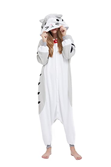 Pour Pyjamas Animal Combinaison Fandecie Halloween Kigurumi Costume Chat Adulte Carnaval Homme Femme Cosplay rWEdCxoQBe