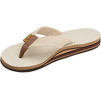 019860b49760 Rainbow Sandals Men s Hemp Double Stack