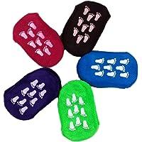 Malloom® 5 pares bebé Niño Chica algodón mezclado Antideslizante Calcetines del deslizador de 3-18 meses