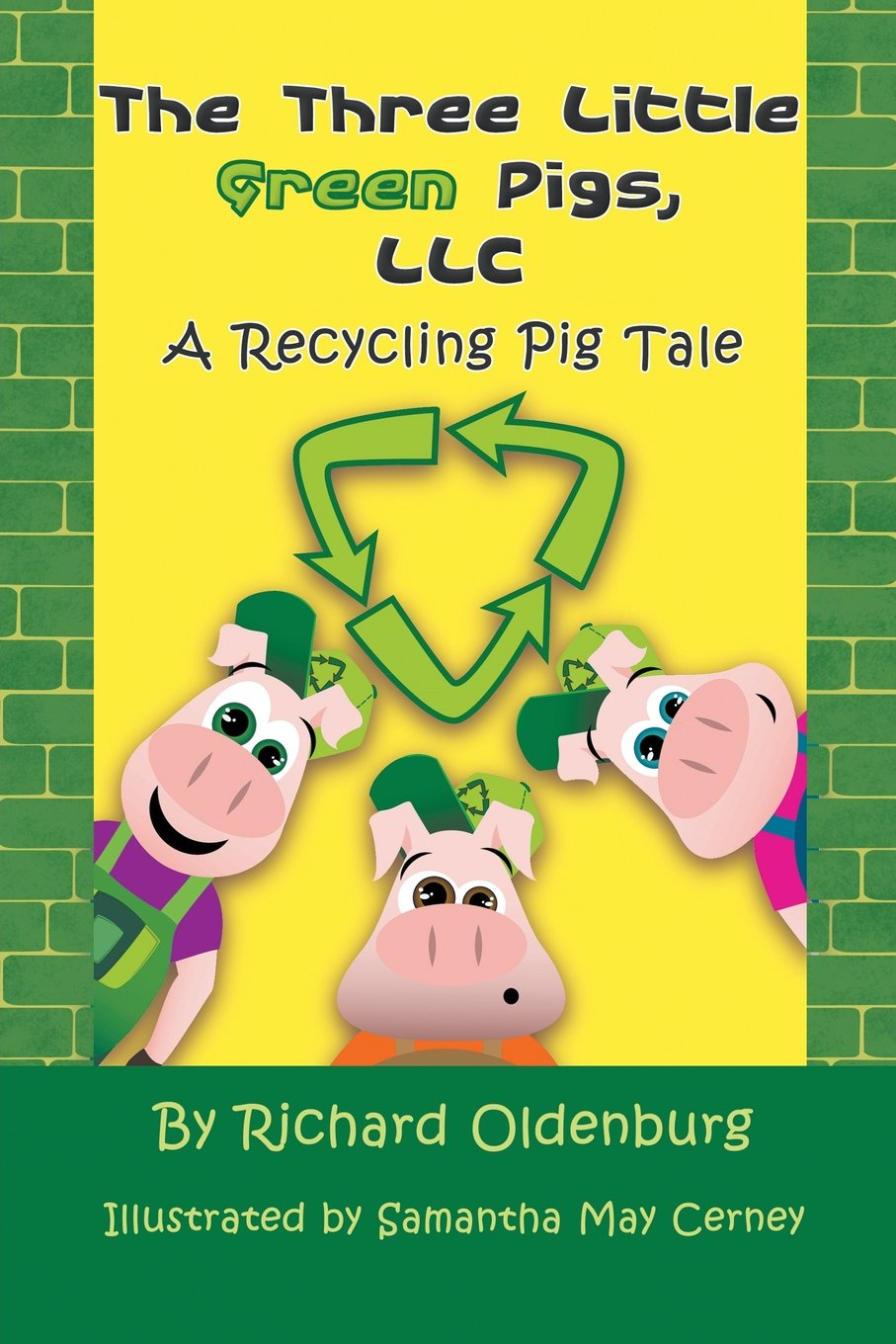 Download The Three Little Green Pigs, LLC: A Recycling Pig Tale pdf