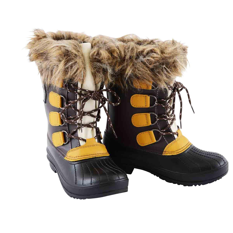 Horze Crescendo Burke Stable Boots, Dark Brown 6.5