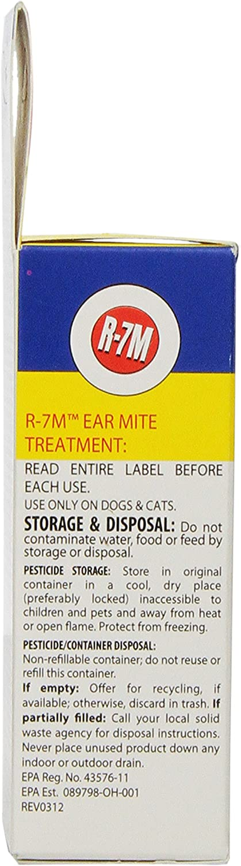 Miracle Care R-7M 424224 Ear Mite Treatment 4oz : Pet Ear Care Supplies : Pet Supplies