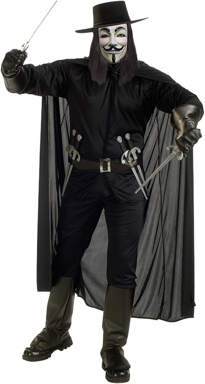 Rubies V de Vendetta disfraz para adultos traje de carnaval Extra ...