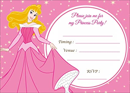 askprints metallic card invitations with envelopes for girls