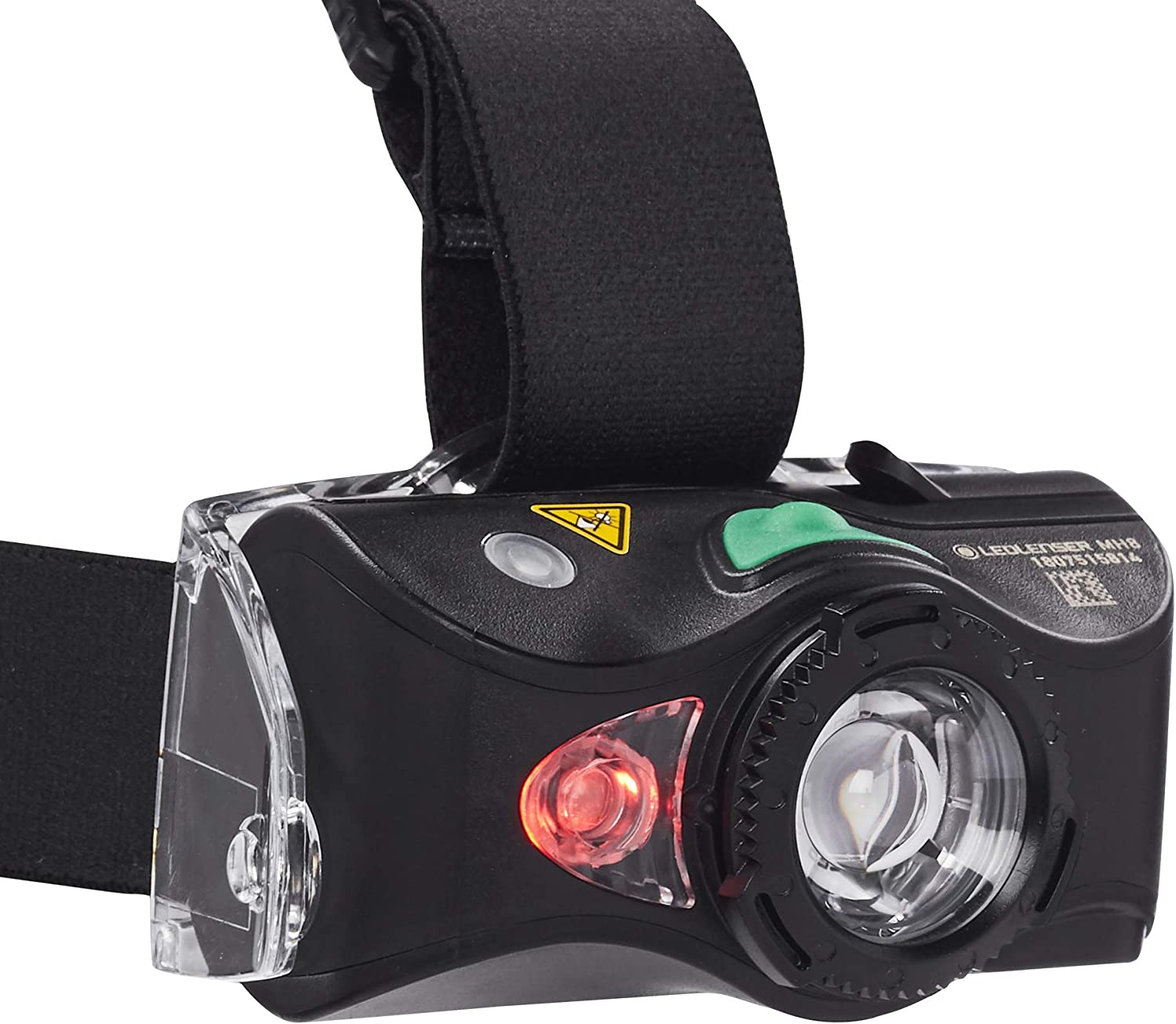 Hiking Backpacking MH8 Lightweight Rechargeable Headlamp with Removable Headstrap Camping Camo Ledlenser High Power LED 600 Lumens