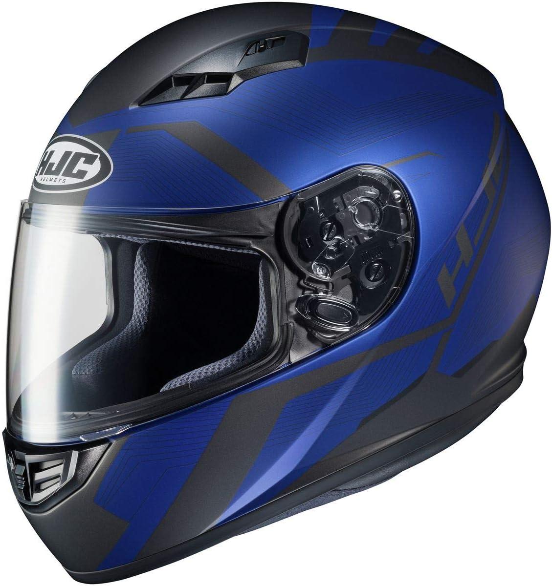 HJC Helmets CS-R3 Helmet Black//HI-VIZ Large Faren