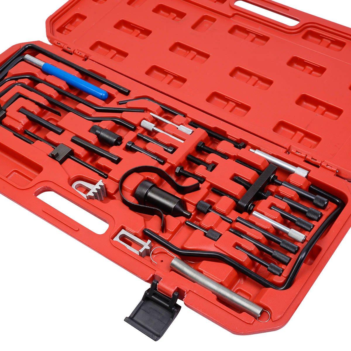 safstar Citroen Peugeot encendido de motor ajuste cinturón cambio herramienta Set Kit: Amazon.es: Hogar