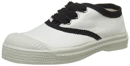 Bensimon Tennis Lacet Gros GRAINENFNAT, Zapatillas para Niñas, (Blanc 101), 28 EU: Amazon.es: Zapatos y complementos