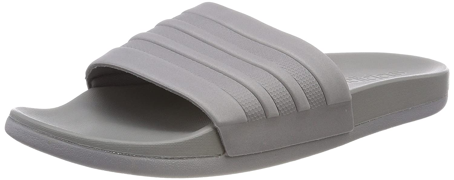 hot sale online b322e b4e6e adidas Menss Adilette Cloudfoam+ Mono Beach  Pool Shoes Amazon.co.uk  Shoes  Bags
