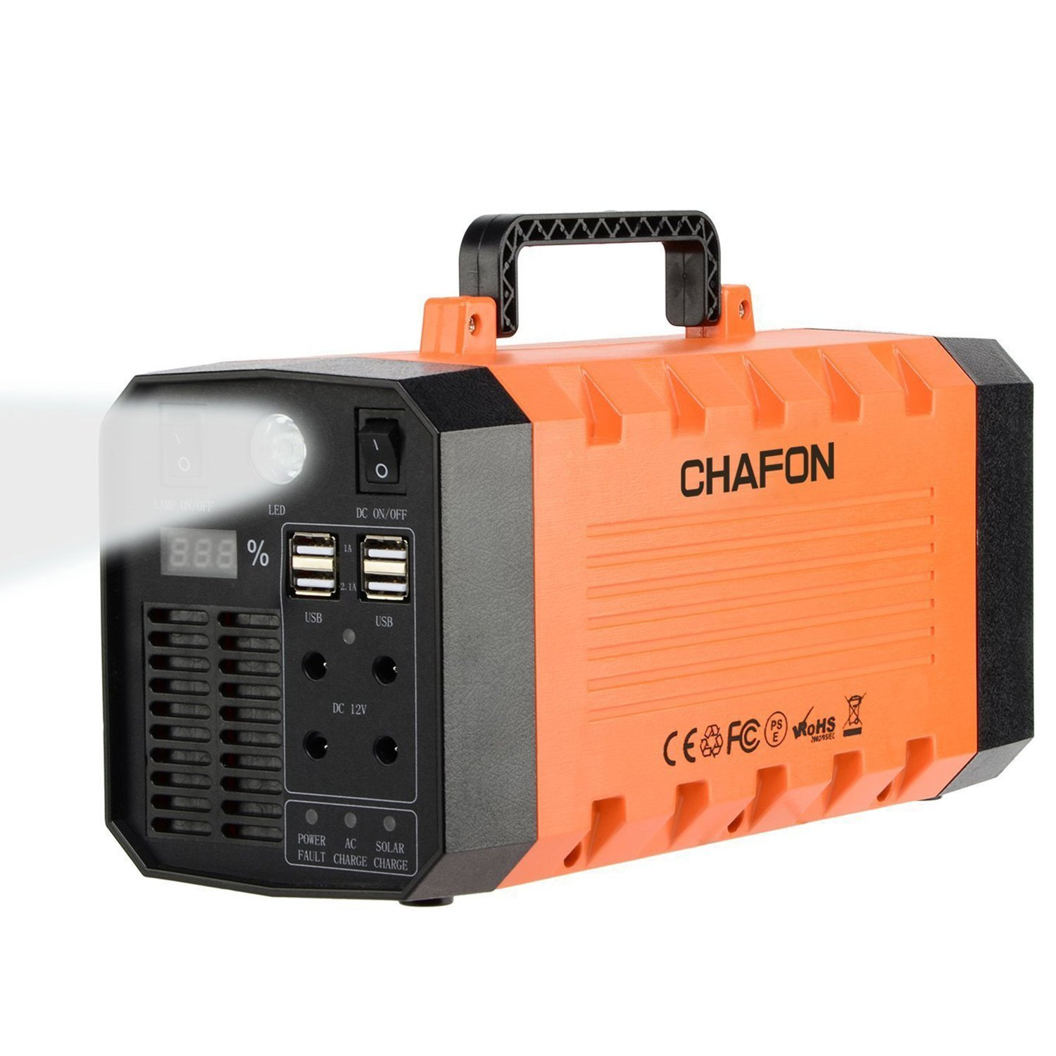 288wh Portable Generator Ups Battery Backuprechargeable 500 W Inverter Circuit Diagram Power Source With 110v 500w Ac12v Carusb Portscar Jump Starter For Camping