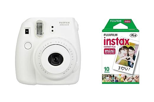 834 opinioni per Fujifilm Instax Mini 8 Fotocamera Istantanea per Foto Formato 62 x 46 mm + 10