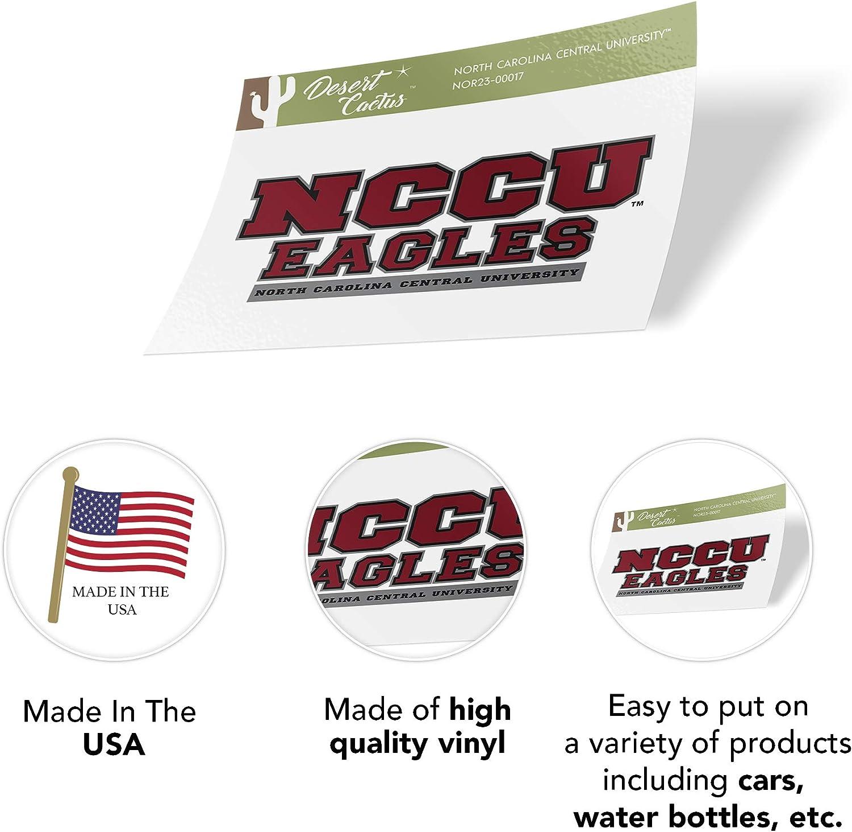 North Carolina Central University NCCU Eagles NCAA Vinyl Decal Laptop Water Bottle Car Scrapbook Sticker - 00017
