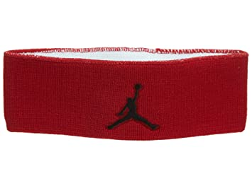 Nike - Jordan Jumpman Headband - Bandeau - Rouge - One Size - Unisex ... 2efbb33c36b