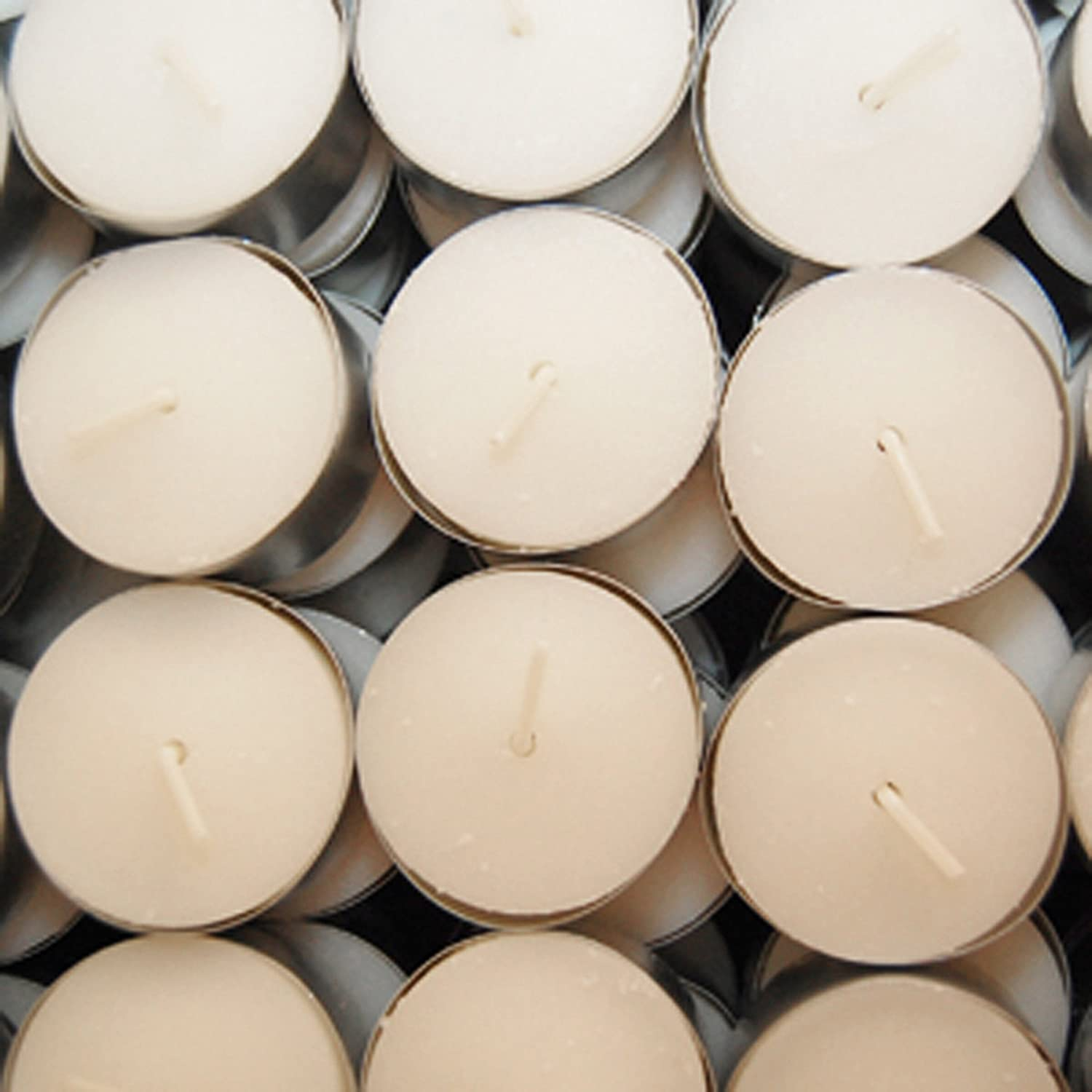White Lumabase 313100 100 Count Extended Burn Tea Light Candles