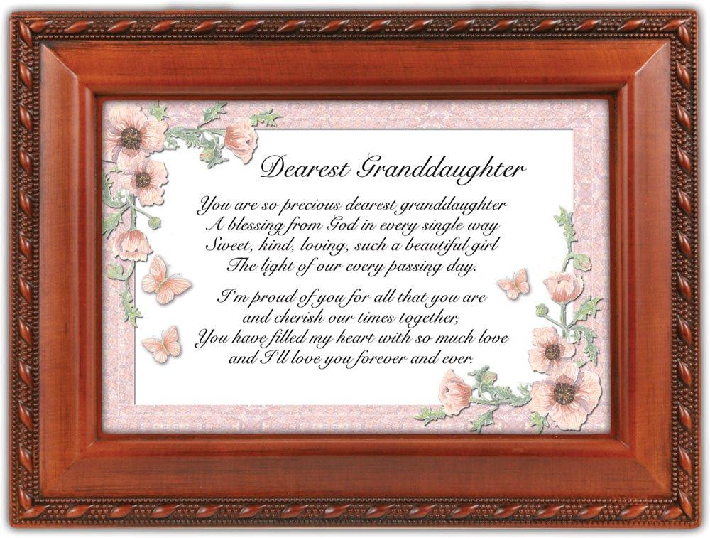 2018セール Cottage Garden DRST Granddaughter Woodgrain音楽ボックス/ジュエリーボックスPlays Garden Friend Granddaughter in Jesus Friend B00BRX8X76, セブントゥーセブン:710299eb --- arcego.dominiotemporario.com