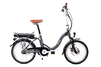 cb337b312166b7 20 quot  Zoll Alu E Bike Move Elektro Falt Fahrrad Pedelec Shimano Nexus 7  Gang Disc
