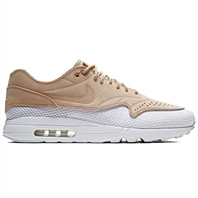 superior quality f37ba dd0ca Nike Men s Air MAx 1 Ultra 2.0 Premium BR White Tan AO2449-200 (