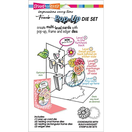 Stampendous Build a Pop-Up Die Cut Set