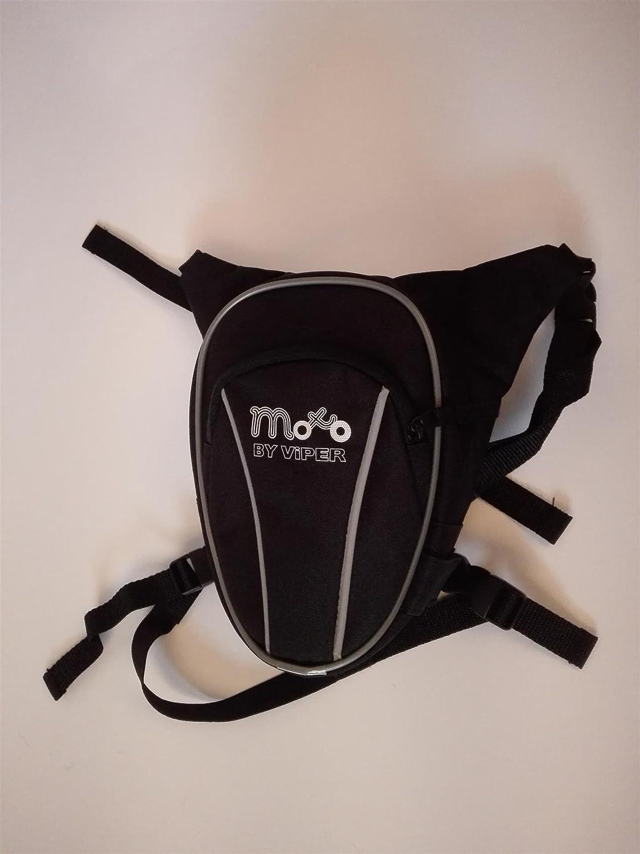 600D Textil Bolso DE Pierna Cintura para Motocicleta RI/ÑONERA Pieza DE Almacenamiento DE Ciclismo Ligero 8 L
