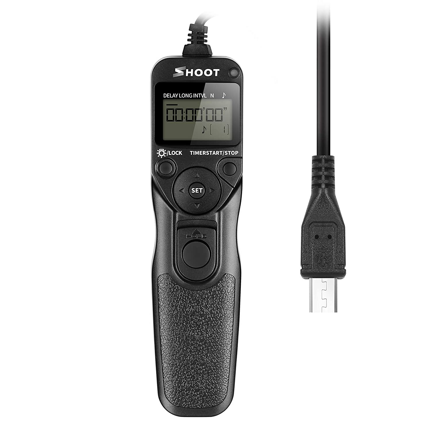 SHOOT Rm-vpr1 LCD Screen Timer Remote Shutter Release Time-lapse for Sony Alpha A7,A7R,A7II,A3000,A6000,SLT-A58, NEX-3NL, DSC-HX300, DSC-RX100M3, DSC-RX100M2,DSC-RX100II, DSC-RX100III Cameras