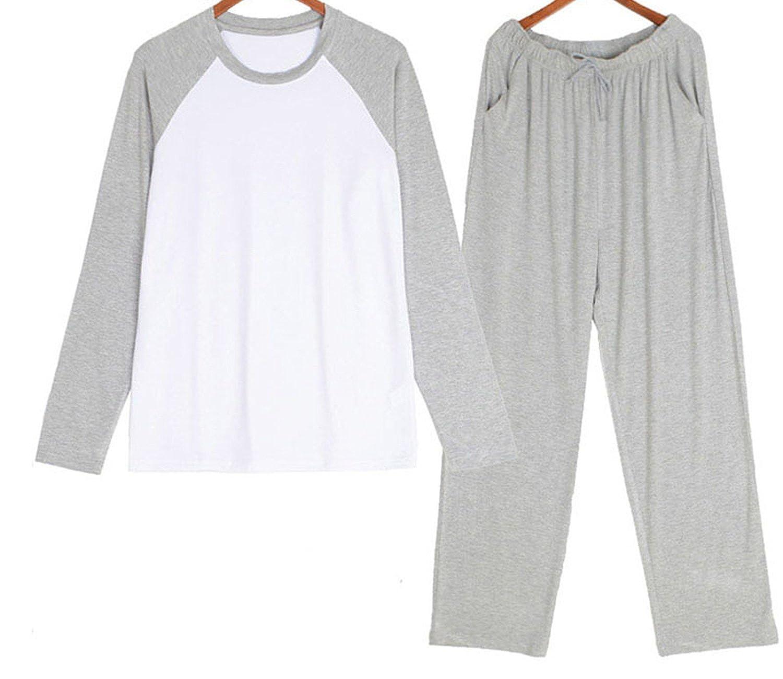 Beancan Modal Material Mans Sets Mens Sleepwear Men Set De Hombre 1135 at Amazon Mens Clothing store: