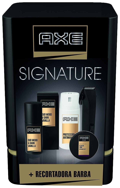Axe Quattro Signature Pack Regalo Recortadora de Barba
