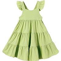 Kids Toddler Baby Girls Rainbow Dress Princess Sleeveless Beach Butterfly Sundress