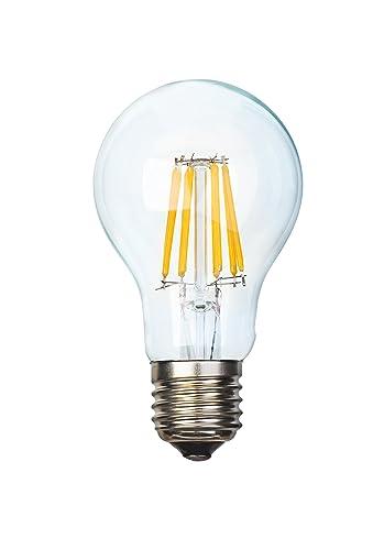 Bombilla LED E27, 4, diseño de filamento w equivalencia 37W-piezas grandes