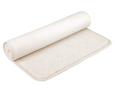YOGISTAR Esterilla para yoga Natural (Lana de oveja) Con ...