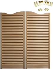 Cafe Doors Premade: Made From Sturdy Pine Wood Cafe Doors Hinges Included  (30