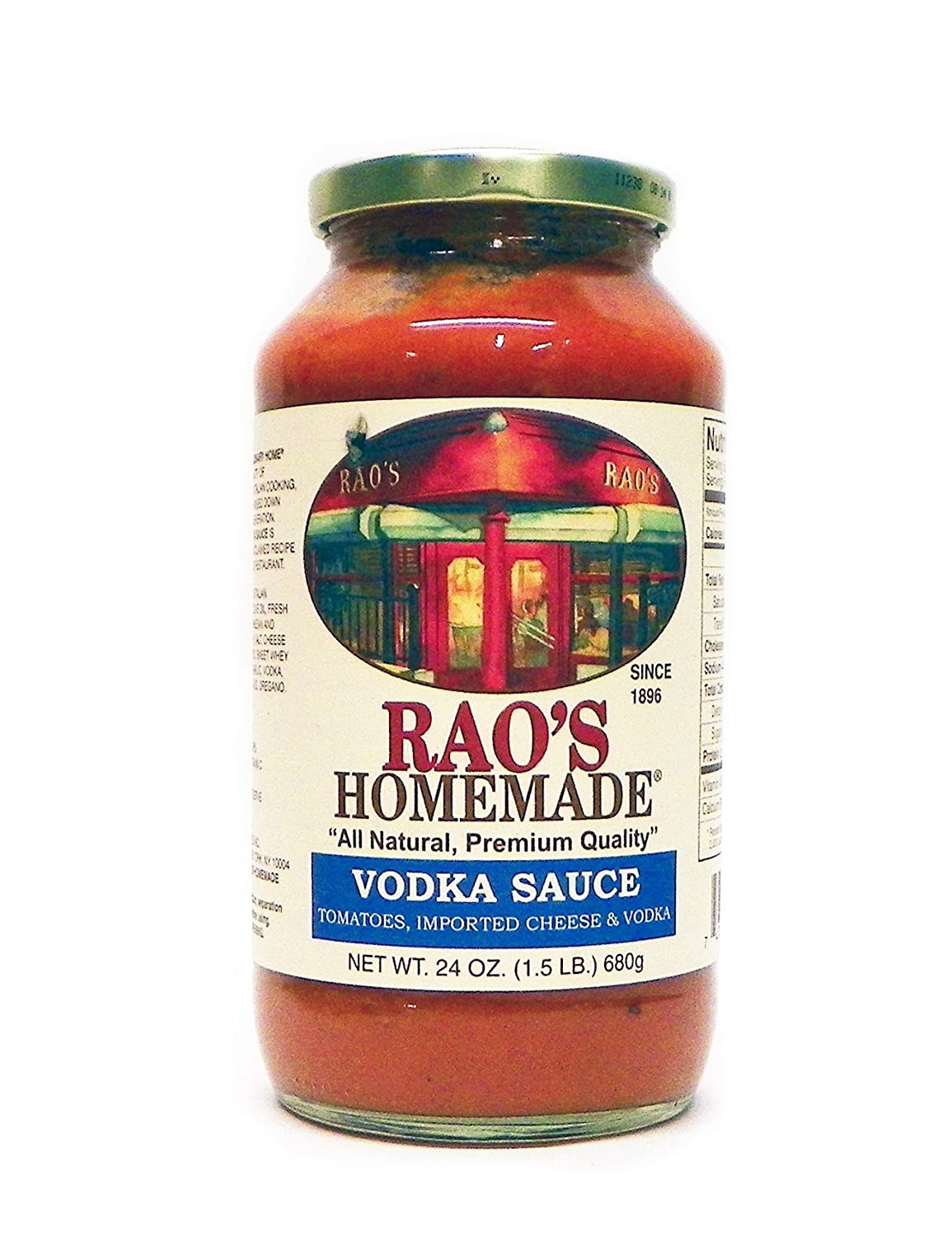 Rao's Homemade Vodka Sauce, 24-Ounce (Pack of 4)