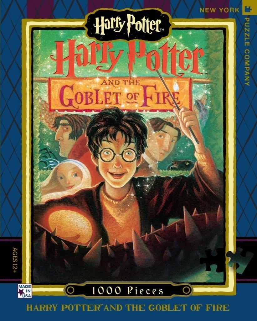 Promoción por tiempo limitado New York Puzzle Company - Harry Potter Goblet of Fire - 1000 Piece Jigsaw Puzzle by New York Puzzle Company