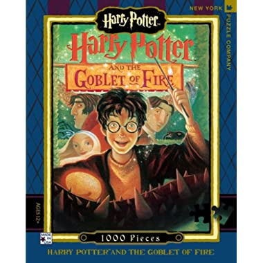 New York Puzzle Company - Harry Potter Goblet of Fire - 1000 Piece Jigsaw Puzzle