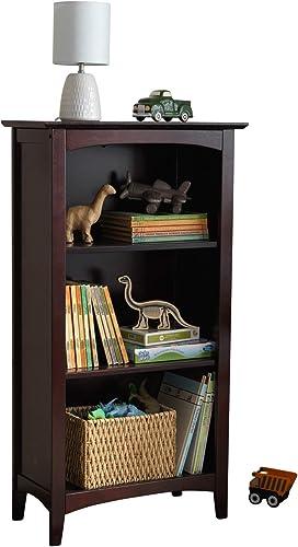 KidKraft Avalon Wooden Three-Shelf Kid's Bookcase