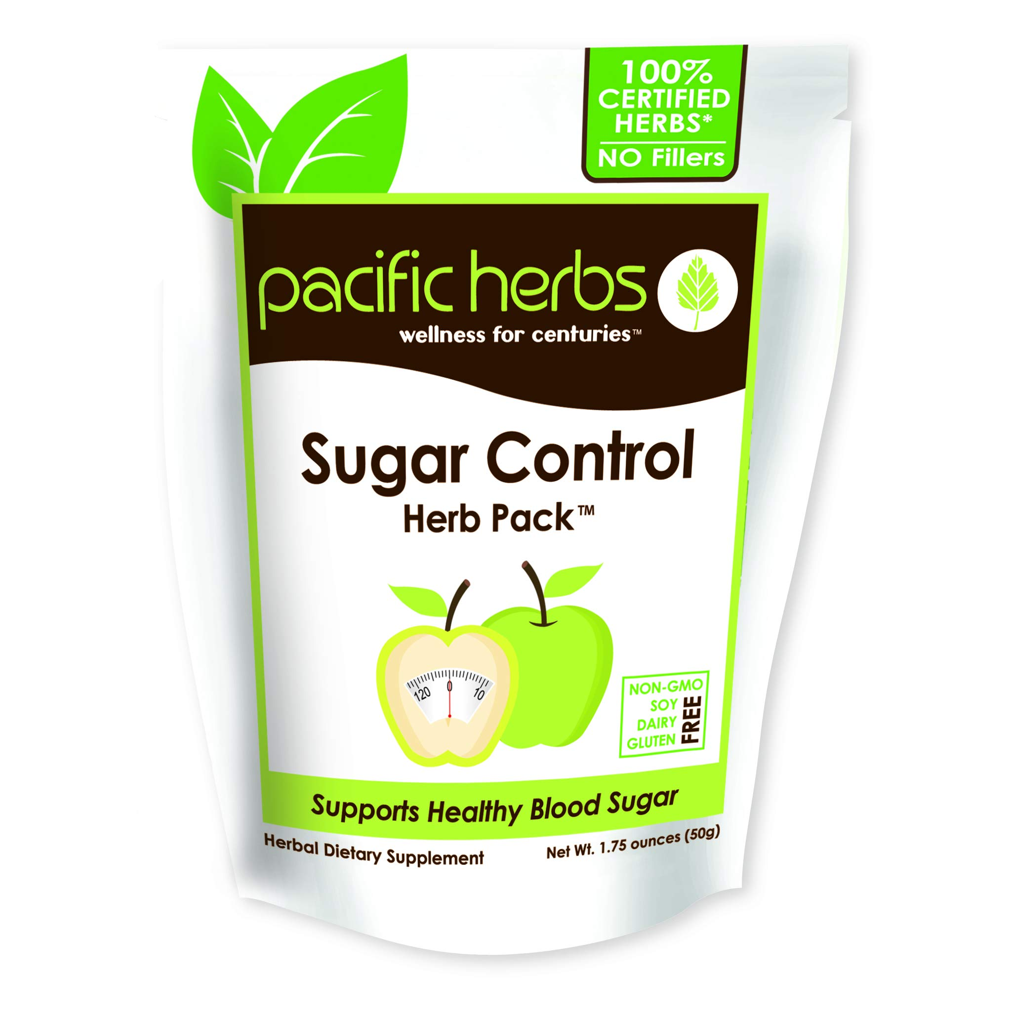 Pacific Herbs Natural Blood Sugar Support Herbs by Pacific Herbs