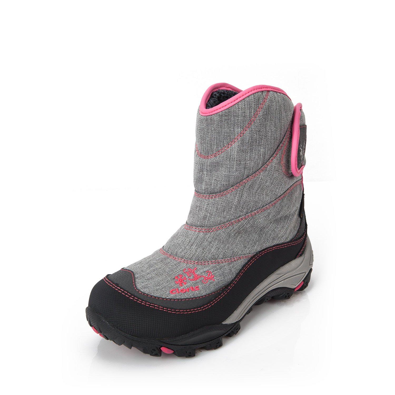 Suetar Damen Mädchen SAMT innen Outdoor Sportschuhe Winter Mode Wandern Trekking Skifahren Klettern Stiefel Keep-warm Rutschfest und angenehm zu Tragen