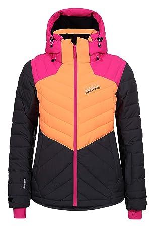 100% Spitzenqualität reduzierter Preis amazon Icepeak Damen Skijacke Kendra 53234-661 dunkelgrau/orange ...
