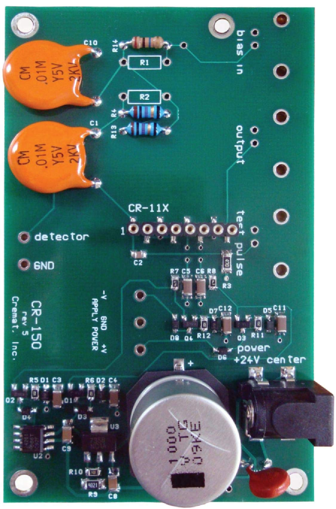 CR-150-R5 Evaluation Board for CR-11X Charge Sensitive preamplifier modules by Cremat Inc (Image #3)