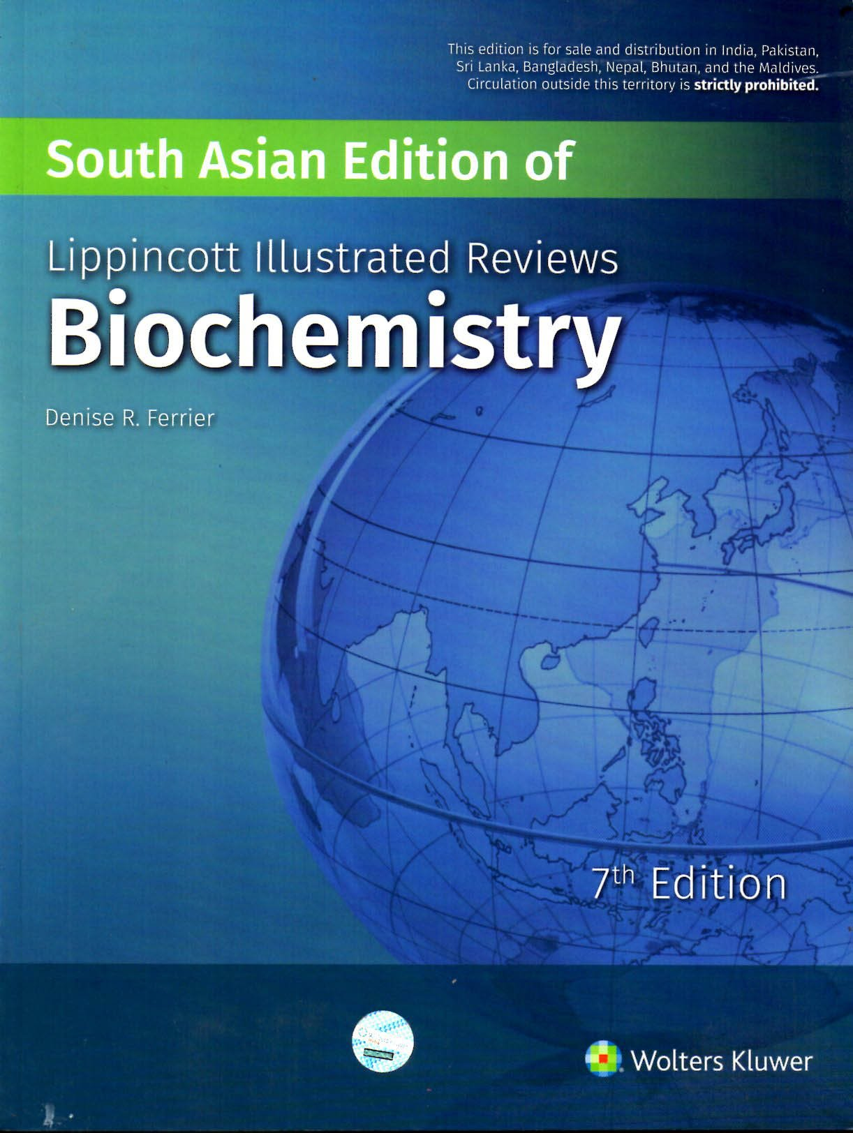 Lippincotts illustrated reviews biochemistry paperback 2017