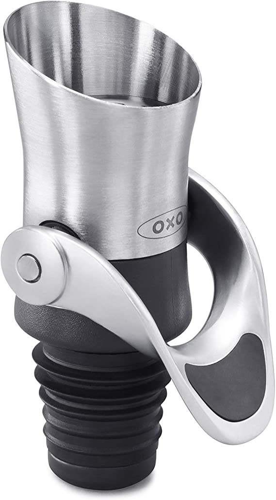 OXO 11136400 SteeL Wine Stopper and Pourer