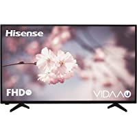 "Hisense H39A5600 - TV Hisense 39"" Full HD, Smart TV VIDAA U, Natural Color Enhancer, Motion Picture Enhancer, Clean View, Mando acceso One touch, WIFI."