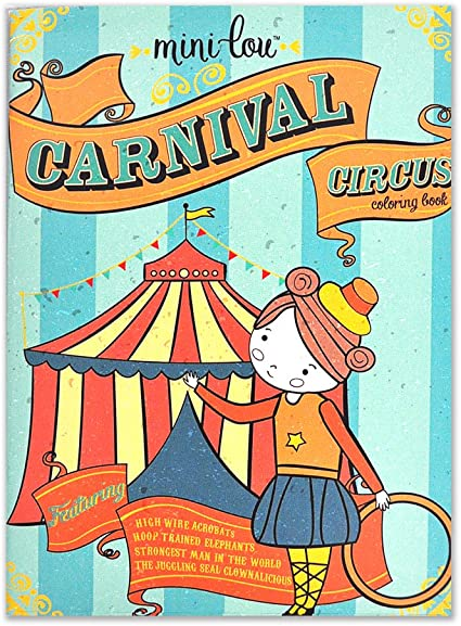 - Amazon.com: Carnival Circus Coloring Book: Arts, Crafts & Sewing
