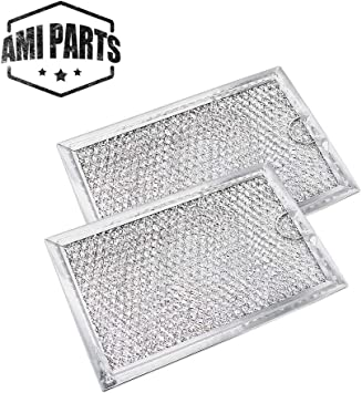 Compatible with GE Stove Replacement Parts by AMI WB06X10309 Filter Microwave Oven Grease Filter 7-5//8 x 5 x 3//32 Inch 4 Packs Packed In Box