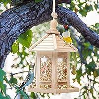 per Comederos Pájaros Silvestres de Madera Dispensadores