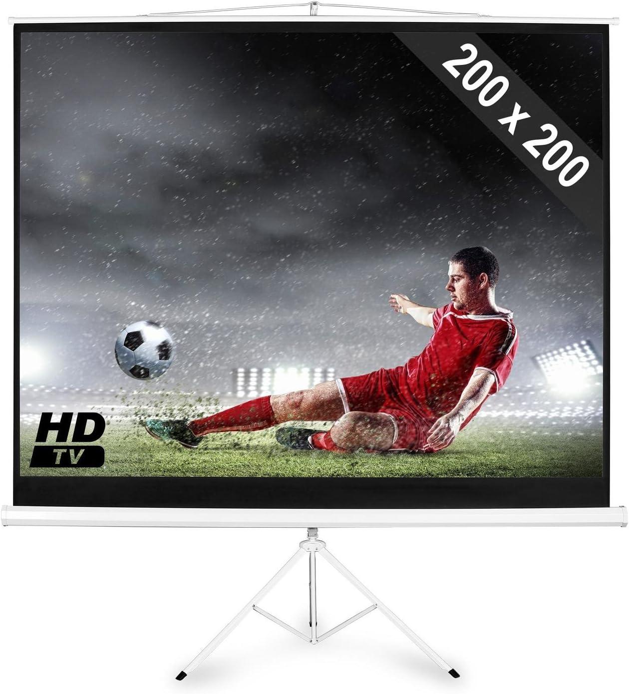 Electronic Star Pantalla de proyector Calidad HDTV: Amazon.es ...
