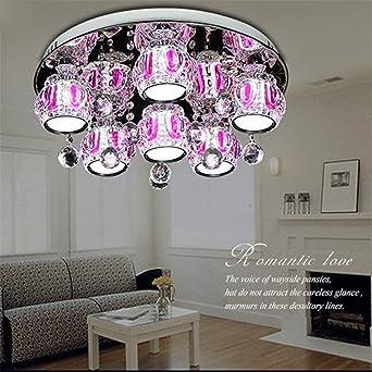 Luz de alto grado clásicas lámparas de techo de cristal LED ...