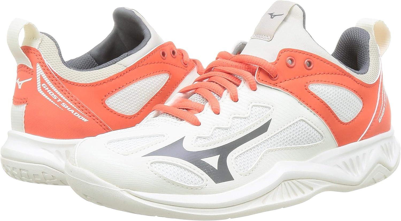 Mizuno Damen Ghost Shadow Handball Schuhe Schwarz Sport Netball Atmungsaktiv