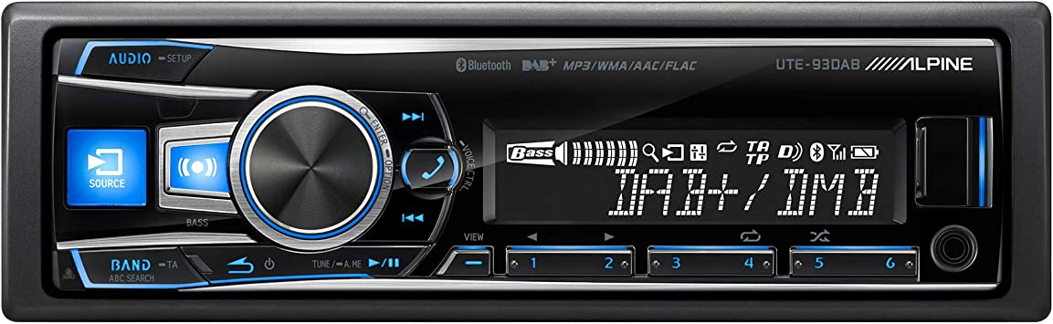 Alpine Ute 93dab Dab Radio Deckless Media Receiver Ipod Elektronik
